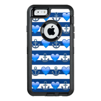 Blue Anchor Emoji iPhone 6/6s Otterbox Case