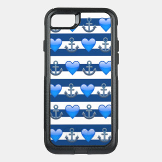 Blue Anchor Emoji iPhone 8/7 Otterbox Case