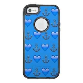 Blue Anchor Emoji iPhone SE/5/5s Otterbox Case