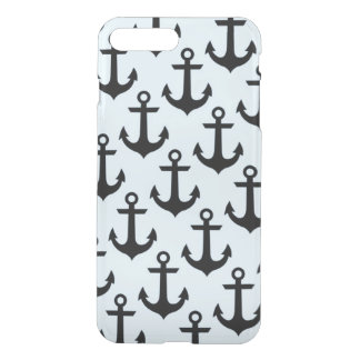 Blue Anchor iPhone 8 Plus/7 Plus Clearly™ Case