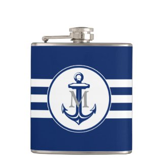 Anchor Hip Flask