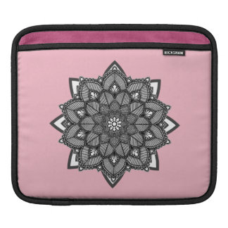 Blue and Black Mandalas iPad Case