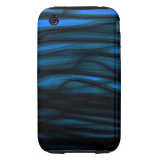 Blue and Black Tough iPhone 3 Covers