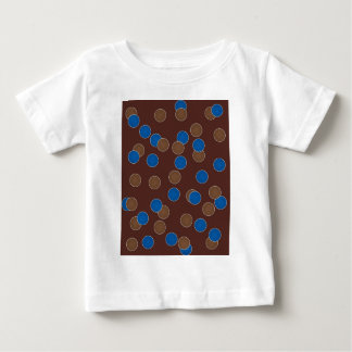 Blue and Brown Balls T-shirt