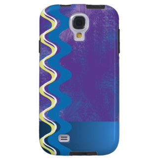 Blue and edgy galaxy s4 case