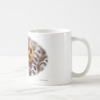 Blue And Gold Coffee Mug