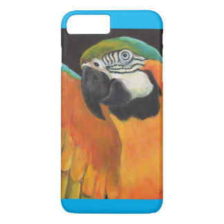 Blue And Gold Macaw iPhone 7 Plus Case