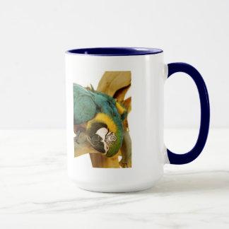 Blue and Gold Macaw Mug