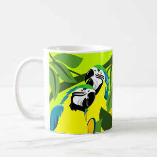 Blue and Gold Macaw Mugs