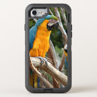 Blue And Gold Macaw OtterBox Defender iPhone 7 Case