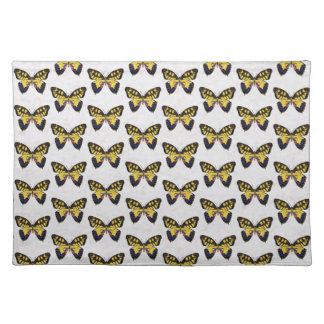 Blue and Golden Butterflies Placemat
