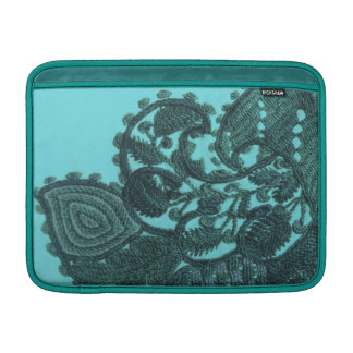 Blue And Green Bohemian Paisley Sleeve For MacBook Air