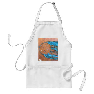 Blue and Green Dreamcatcher Adult Apron