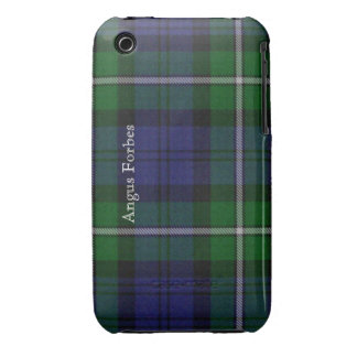 Blue and Green Forbes Tartan Plaid iPhone 3G Case