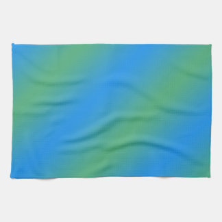 Blue And Green Gradient Kitchen Towels