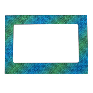 Blue And Green Gradient Magnetic Photo Frames