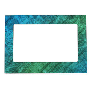 Blue And Green Gradient Magnetic Picture Frames