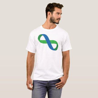 Blue and Green Infinity Ribbon T-Shirt