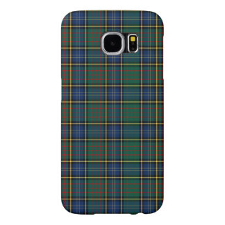 Blue and Green MacMillan Clan Modern Hunting Plaid Samsung Galaxy S6 Cases