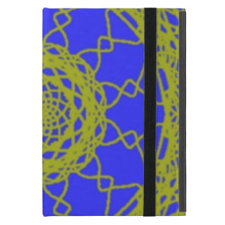 Blue and Green pattern Cover For iPad Mini