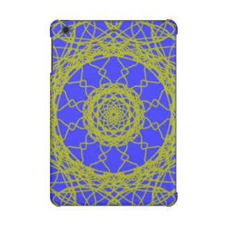 Blue and Green pattern iPad Mini Cover