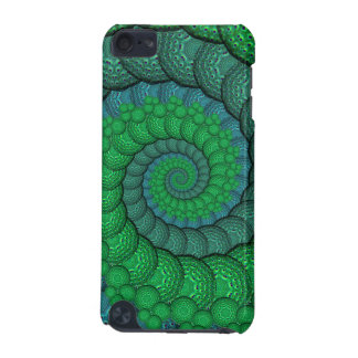 Blue and Green Peacock Feather Fractal iPod Touch (5th Generation) Case