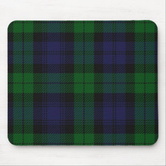 Blue And Green Scottish Sunderland Tartan Mouse Mat