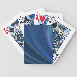 Blue And Green Soft Sand Waves Bicycle Playing Cards