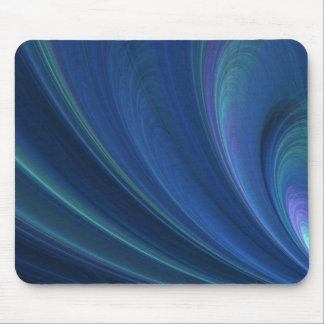 Blue And Green Soft Sand Waves Mouse Mat