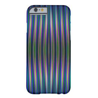Blue and green striped background iphone 6 case