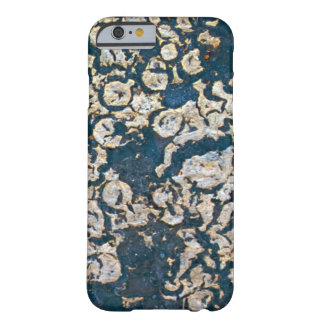 Blue and Grey Rust Barely There iPhone 6 Case