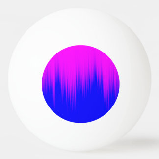 Blue and Magenta Streaks Pattern Ping Pong Ball