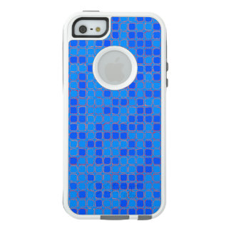 Blue and Pink Abstract Pattern OtterBox iPhone 5/5s/SE Case