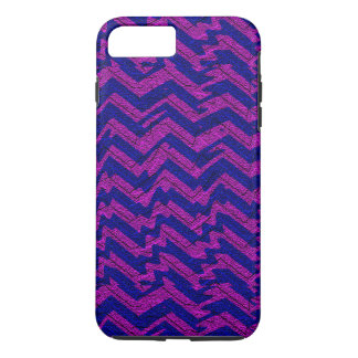 Blue and Pink Chevron Sand iPhone 7 Plus Case