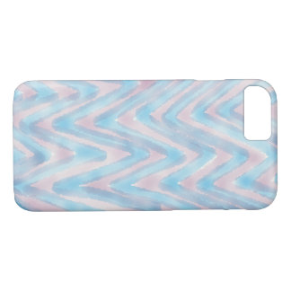 Blue and Pink iPhone Cover