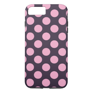 Blue and Pink Polka Dots iPhone 7 Plus Case