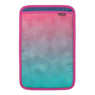 Blue and Pink Vintage Design MacBook Air Sleeves
