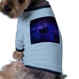 Blue and Purple Circles 1 Doggie Tshirt