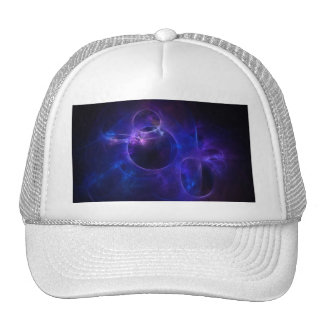 Blue and Purple Circles 1 Hat