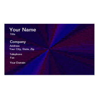 Blue and Purple Circular Patchwork Array 1 Business Card Template