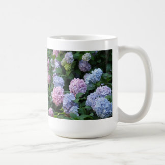 Blue and Purple Hydrangea Coffee Mug