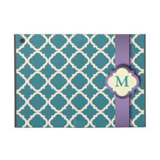 Blue and Purple Quatrefoil iPad Mini Powis Case