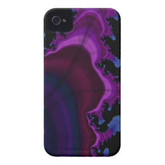Blue and purple Space fractal iphone case iPhone 4 Case-Mate Cases