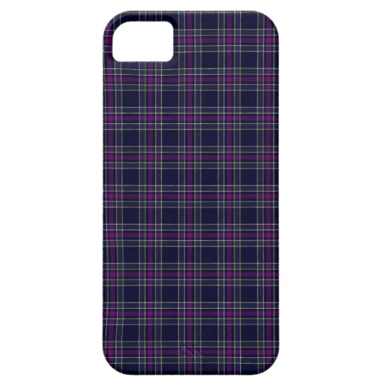 Blue and Purple Spirit of Scotland CMDS Tartan