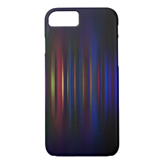Blue and red blurred stripes pattern iPhone 8/7 case