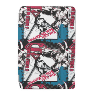 Blue and Red Collage iPad Mini Cover