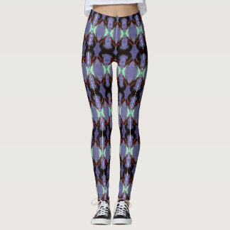 Blue and Red Dragons Leggings