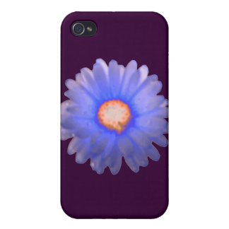 Blue and Red Marigold  iPhone 4 Case