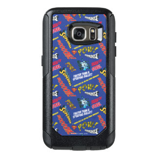 Blue and Red Pow! OtterBox Samsung Galaxy S7 Case