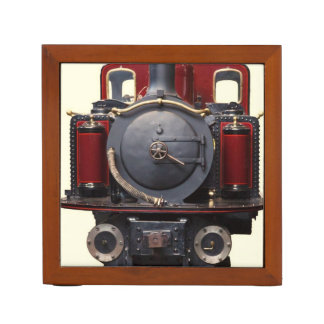 Blue And Red Train Pencil/Pen Holder